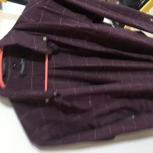 dior mens button down shirt long sleeve purple